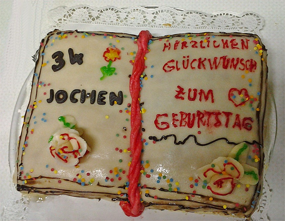 Torte In Buchform Von Elisadoolittle Chefkoch De