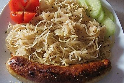 Bayrisch - sächsischer Weißkrautsalat abgespeckt - nach Ille