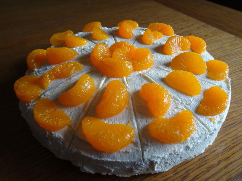 Fruchtige Schmand Sahne Torte Von Ardillachris Chefkoch De