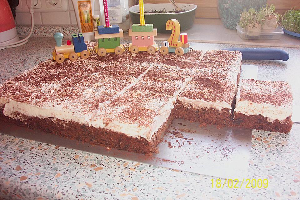 Schoko Birnen Kuchen Mit Schmand Von Helga56 Chefkoch De