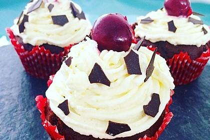 Schwarzwälder Kirsch Cupcakes 100