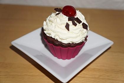 Schwarzwälder Kirsch Cupcakes 25