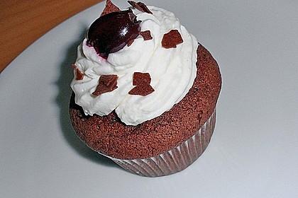 Schwarzwälder Kirsch Cupcakes 106