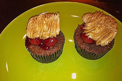 Schwarzwälder Kirsch Cupcakes 238