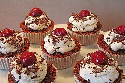 Schwarzwälder Kirsch Cupcakes 95