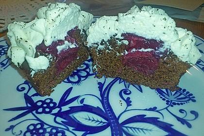 Schwarzwälder Kirsch Cupcakes 231