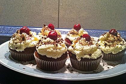Schwarzwälder Kirsch Cupcakes 177