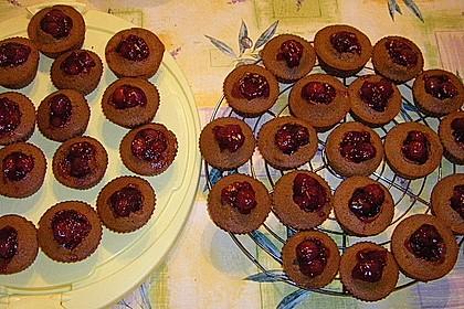Schwarzwälder Kirsch Cupcakes 229