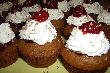 Schwarzwälder Kirsch Cupcakes 199