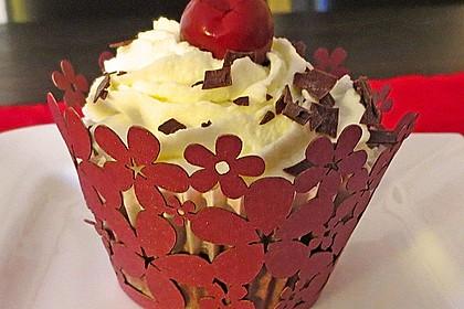 Schwarzwälder Kirsch Cupcakes 122