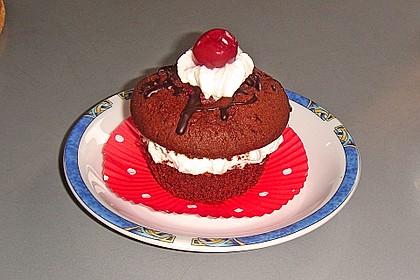 Schwarzwälder Kirsch Cupcakes 134