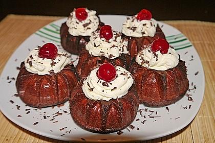 Schwarzwälder Kirsch Cupcakes 92