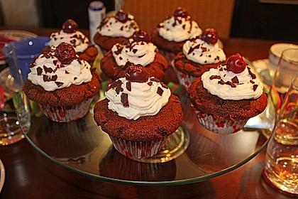 Schwarzwälder Kirsch Cupcakes 94