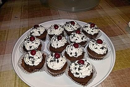 Schwarzwälder Kirsch Cupcakes 132