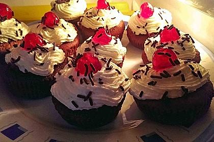 Schwarzwälder Kirsch Cupcakes 213