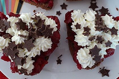 Schwarzwälder Kirsch Cupcakes 207