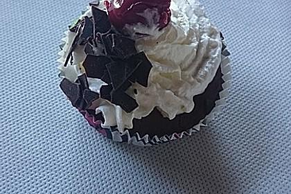 Schwarzwälder Kirsch Cupcakes 195