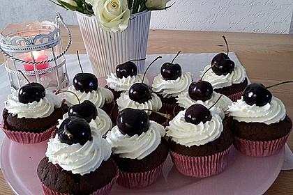 Schwarzwälder Kirsch Cupcakes 97