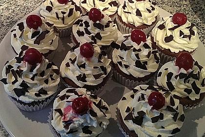 Schwarzwälder Kirsch Cupcakes 73
