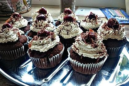 Schwarzwälder Kirsch Cupcakes 172
