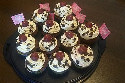Schwarzwälder Kirsch Cupcakes 83