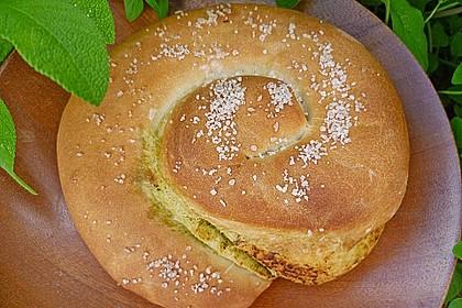 Pesto Schnecke 1