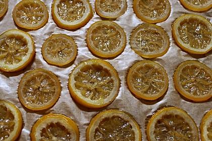 Kandierte Zitronen oder Orangen