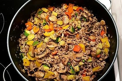 Hackfleisch - Gemüse - Pfanne 33