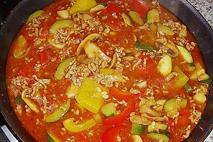 Hackfleisch - Gemüse - Pfanne 27