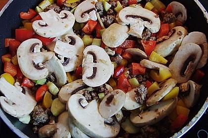 Hackfleisch - Gemüse - Pfanne 30