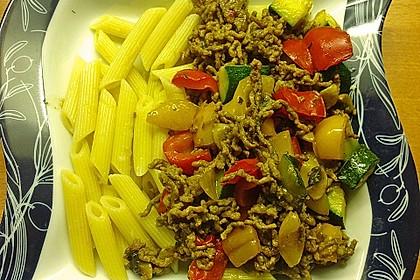 Hackfleisch - Gemüse - Pfanne 16