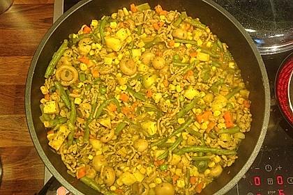 Hackfleisch - Gemüse - Pfanne 40