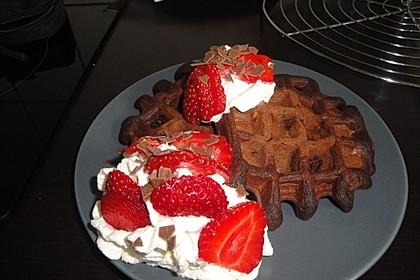 Schokoladen - Brownie - Waffeln 4