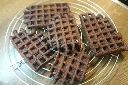 Schokoladen - Brownie - Waffeln 7