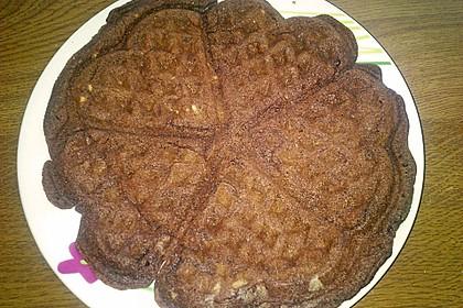 Schokoladen - Brownie - Waffeln 9