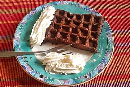 Schokoladen - Brownie - Waffeln 3