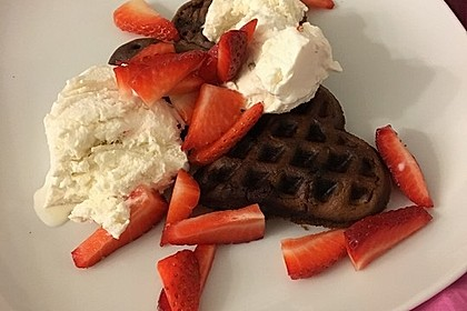 Schokoladen - Brownie - Waffeln 2