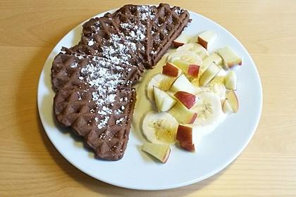 Schokoladen - Brownie - Waffeln