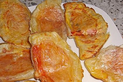 Calzone mit Blätterteig 3