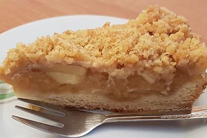 Apfelmus - Vanillepudding - Kuchen 35
