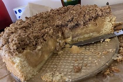 Apfelmus - Vanillepudding - Kuchen 47