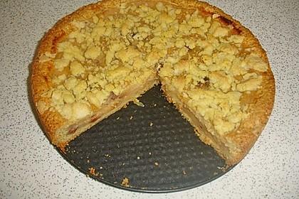 Apfelmus - Vanillepudding - Kuchen 49