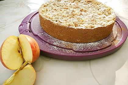 Apfelmus - Vanillepudding - Kuchen 4