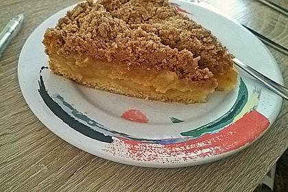 Apfelmus - Vanillepudding - Kuchen 54