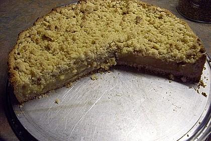 Apfelmus - Vanillepudding - Kuchen 55