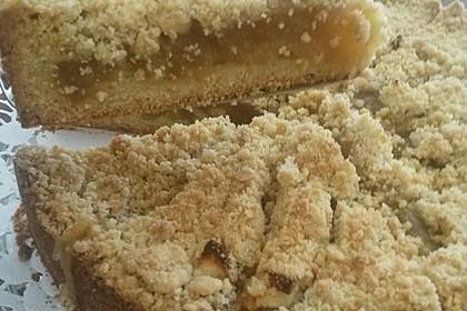 Apfelmus - Vanillepudding - Kuchen 42