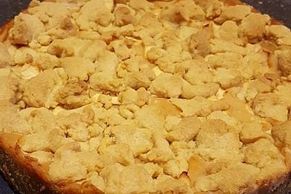 Apfelmus - Vanillepudding - Kuchen 60
