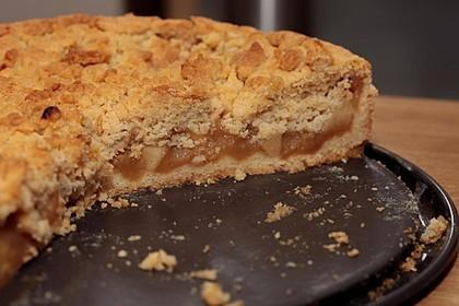 Apfelmus Vanillepudding Kuchen Von Sabilda Chefkoch De