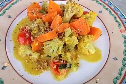 Gebratener Blumenkohl mit Kartoffeln 6