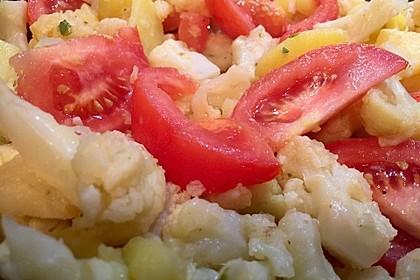 Gebratener Blumenkohl mit Kartoffeln 8